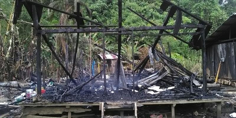 Más de una docena de niños estudiantes de la Comunidad de San Luis Villa Nueva Municipio del Medio Baudó se quedaron sin escuela