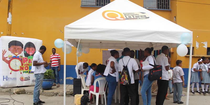 El Hospital Ismael Roldan Valencia, se hace presente en San Pacho 2016, con sus programas de promoción y prevención