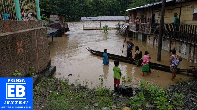 Ultima hora, emergencia en el Municipio de Bagadó por desbordamiento del Río Andágueda.