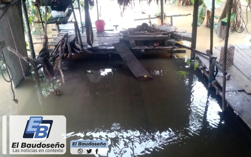 Crítica situación en el Bajo Baudó por causa de las lluvias y la erosión costera. | Noticias de Buenaventura, Colombia y el Mundo