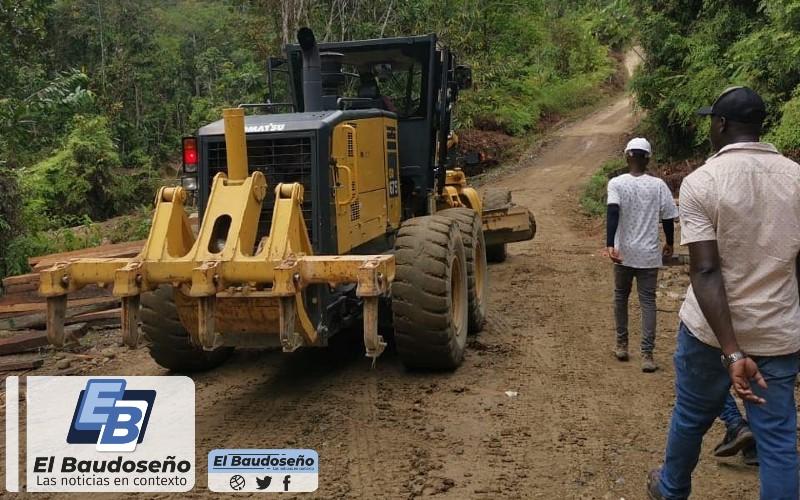 Rio Quito avanza con el proyecto que tiene por objeto el mejoramiento de la vía Paimadó – Puerto Juan.   Noticias de Buenaventura, Colombia y el Mundo
