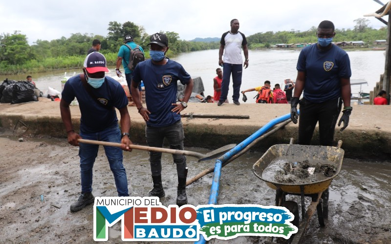 Exitosa jornada de limpieza en Puerto Meluk – Medio Baudó. - Noticias de Colombia