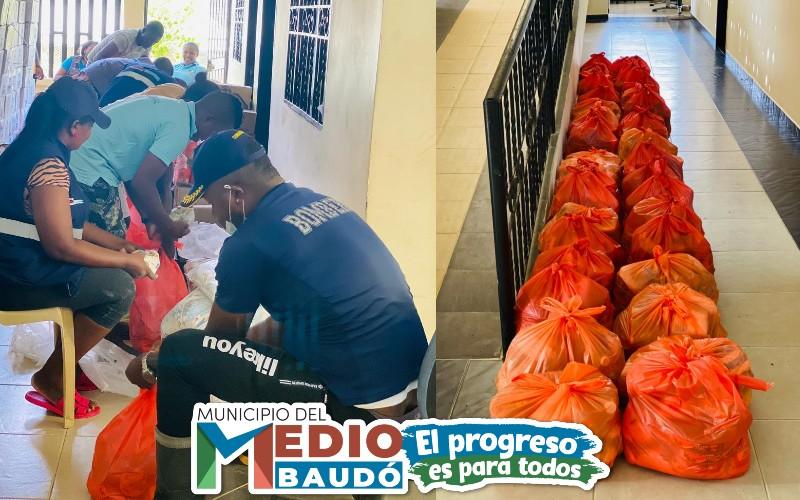 Administración municipal del Medio Baudó, trabajamos incansablemente para llegar a todas las comunidades afectadas por la ola invernal. - Noticias de Colombia