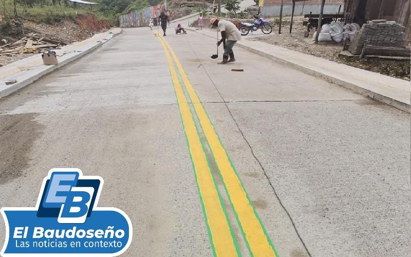Alcalde municipal de Lloró; Moisés Córdoba Ramos realizó inauguración de tres nuevas y modernas obras. - Noticias de Colombia